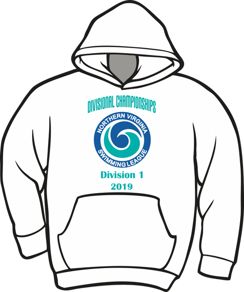 NVSL Dive Divisionals 2019 Hoodie - Division 1