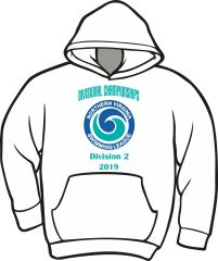 NVSL Dive Divisionals 2019 Hoodie - Division 2
