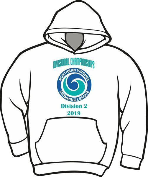NVSL Dive Divisionals 2019 Hoodie - Division 2