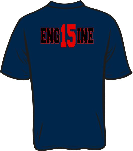 FS415 Eng15ine Short Sleeve T-Shirt