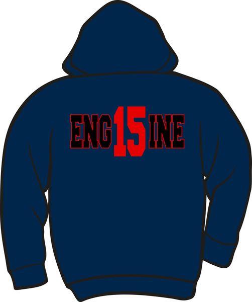 FS415 Eng15ine Heavyweight Zipper Hoodie