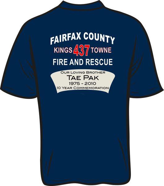 FS437 Tae Pak T-shirt