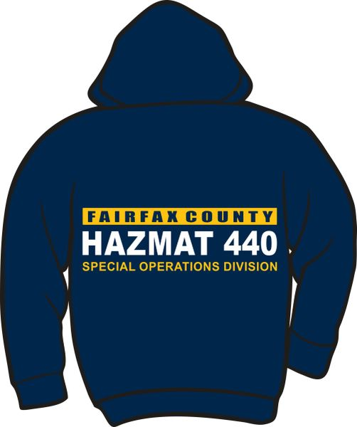HazMat 440 Heavyweight Zipper Hoodie