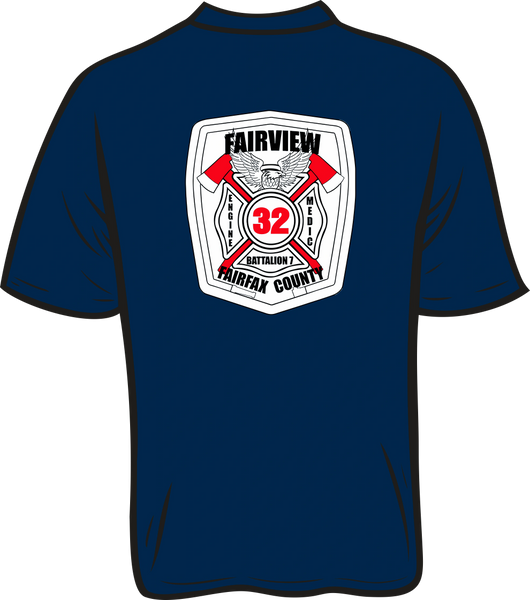 FS432 White Patch T-Shirt