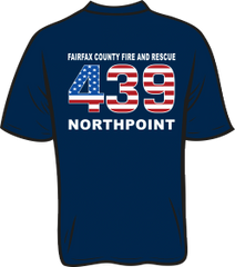 FS439 Flag T-shirt