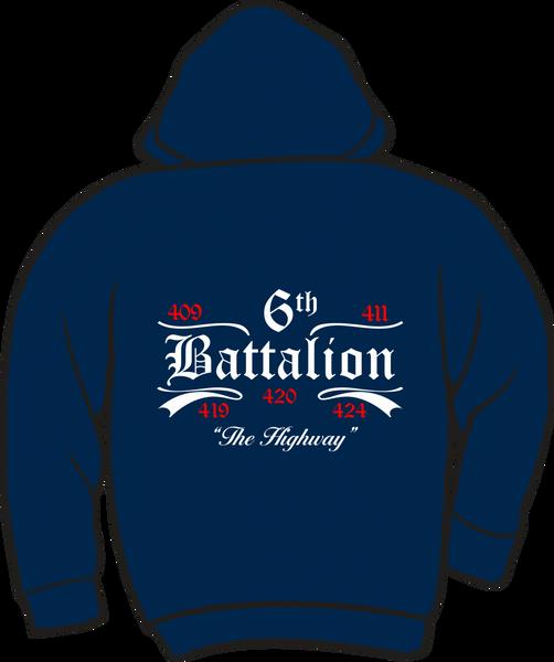 Battalion 6 Heavyweight Zipper Hoodie