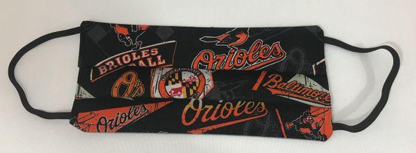 Baseball - Baltimore Face Mask