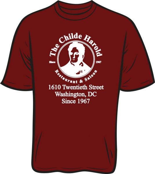 Childe Harold T-Shirt with address
