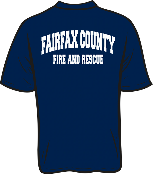 Fire & Rescue Moisture Wicking T-Shirt