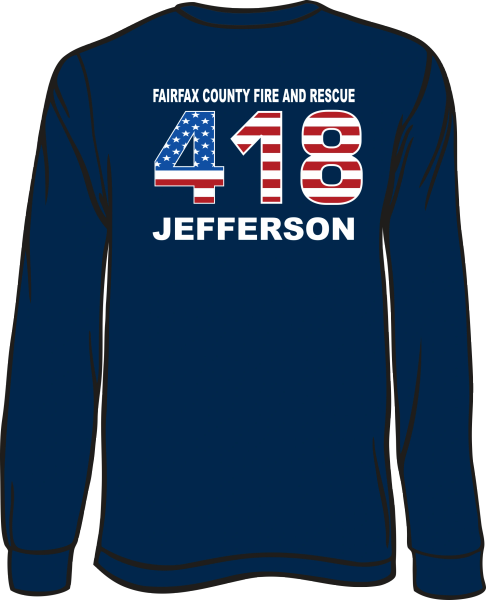 FS418 Flag Long-Sleeve T-shirt