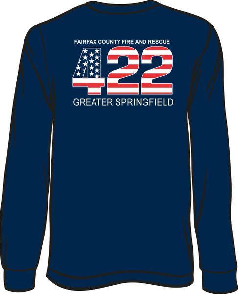 FS422 Flag Long-sleeve T-Shirt