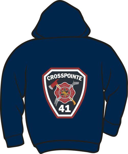 FS441 Patch Heavyweight Zipper Hoodie