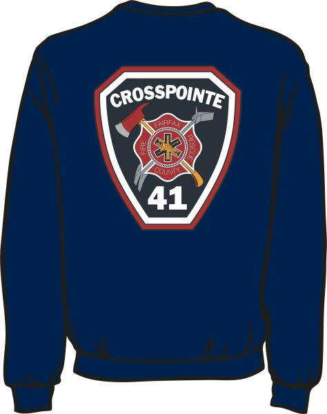 FS441 Patch Heavyweight Sweatshirt