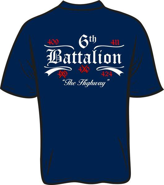 Battalion 6 no 19 or 20 T-Shirt