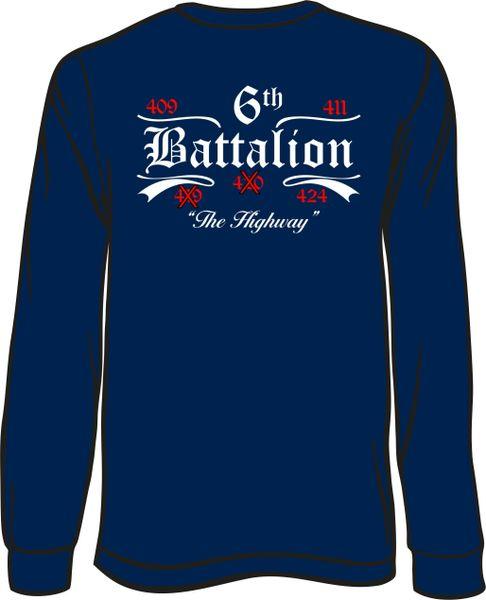 Battalion 6 no 19 or 20 Long-Sleeve T-Shirt
