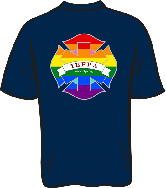 IEFPA T-shirt - Front & Back
