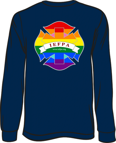 IEFPA Long-Sleeve T-shirt - Front & Back