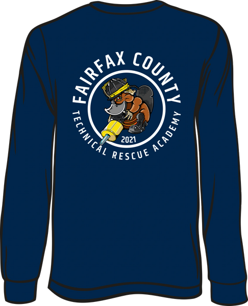 Fairfax County TROT 2021 Long-Sleeve T-shirt
