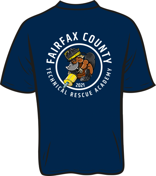 non-Fairfax County TROT 2021 T-shirt