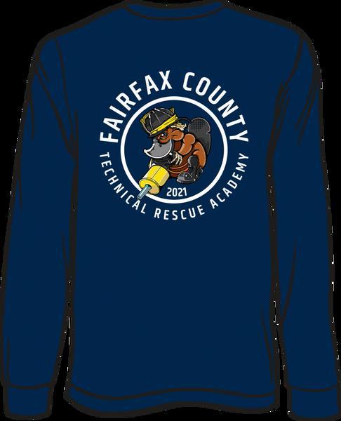 non-Fairfax County TROT 2021 Long-Sleeve T-shirt