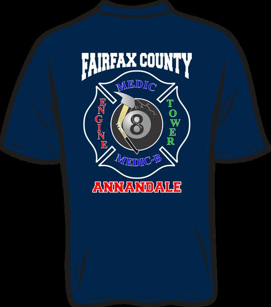 FS408 8-Ball Shield T-shirt