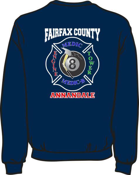 FS408 8-Ball Shield Heavyweight Sweatshirt