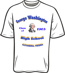 GW High School Class T-Shirt