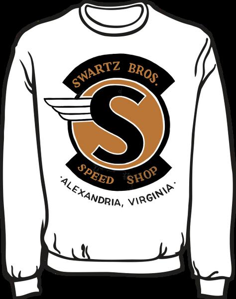 Swartz Brothers' Speed Shop Lightweight Sweatshirt