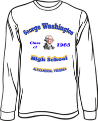 GW High School Class Long-Sleeve T-Shirt