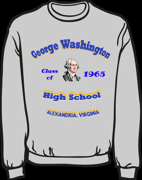 GW High School Class Sweatshirt