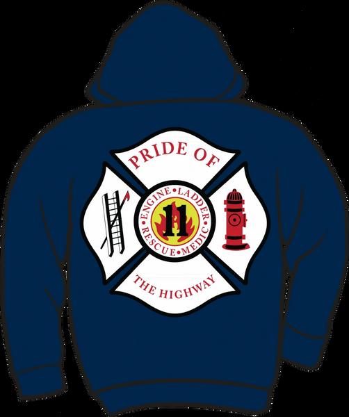 FS411 Fire & Rescue Lightweight Hoodie