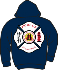 FS411 Fire & Rescue Lightweight Zipper Hoodie