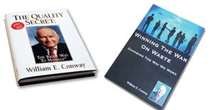 Discount — 2 Book Set: The Quality Secret & Winning The War On Waste