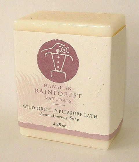 Wild Orchid Pleasure Aromatherapy Soap 4 oz