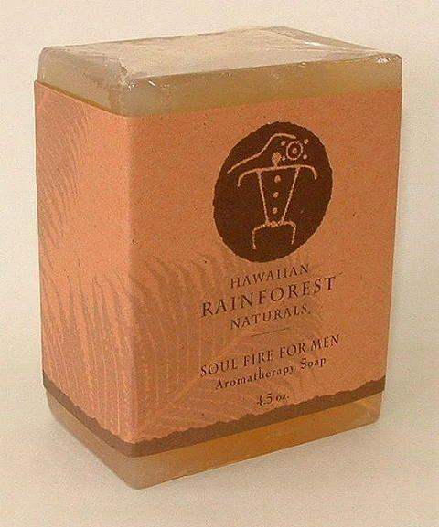 Soul Fire For Men Aromatherapy Soap 4.5oz