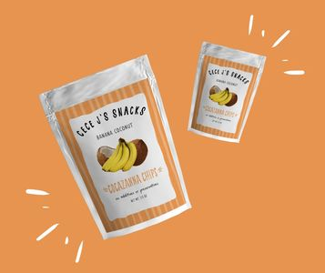 Snacks, Healthy Snacks, Love, Dehydrated All-Natural Banana Chips, Cocazanna