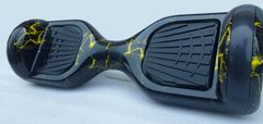 6.5 inch GoGohoverboard, Black Yellow Marble