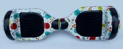 6.5 inch GoGohoverboard, White flower