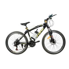 FRRX Mountain Electric Bicycle with 26'' spoke wheels