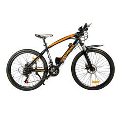 Rockefeller Electric Mountain Bicycle with High carbon steel and 26''wheels