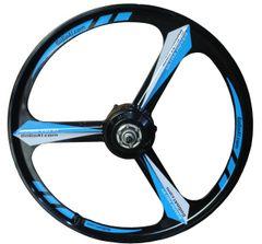 ULTRA ROVER 36V 250W 26-inch high efficient Magnesium wheel Hub motor, black&blue