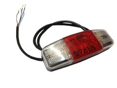 GoGoA1 Universal Rear Indicator with Tail Light/Lamp