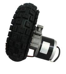 GoGoA1 24V 250W 10 Inch geared chain driven PMDC motor with tire