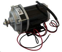 GoGoA1 24V 500W geared chain driven PMDC motor