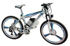Rockefeller R-400 / FRRX Mountain Fully Loaded Electric Bicycle with High carbon steel and 26'' wheels