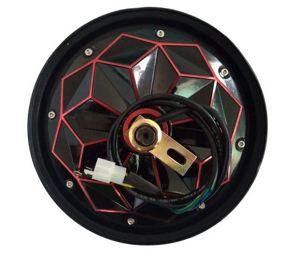 GoGoA1 BLDC 48V-60V-72V 1000W 10 Inch Gearless HUB MOTOR with drum brake  Red Diamond
