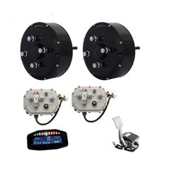 GoGoA1 2WD 3000W Hub Motor Light Electric Car Conversion Kits