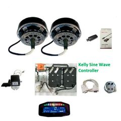 GoGoA1 2WD 8KW E-Car Conversion kits
