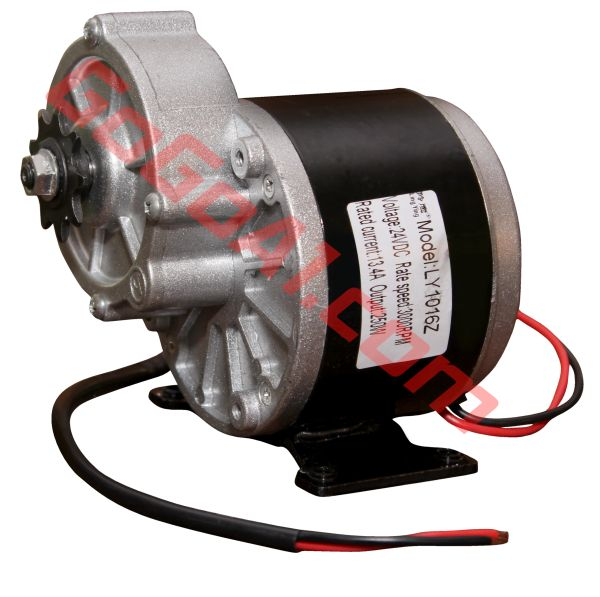 GoGoA1 24V 250W Geared Chain Driven PMDC motor