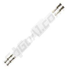 GoGoA1 10pc set 2.8mm 2 pin automotive 2.8 electrical wire connector/male female cable terminal plug kits